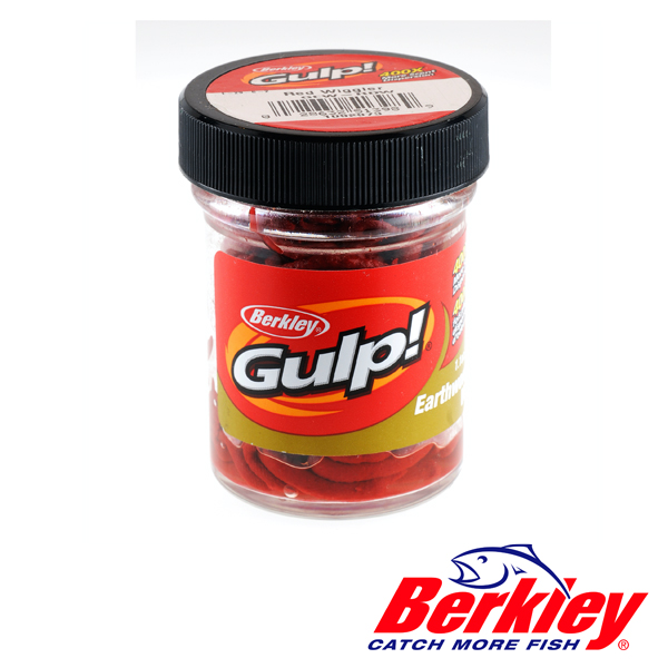 Berkley Gulp! Natural Soft Bait Erdwurm Rot