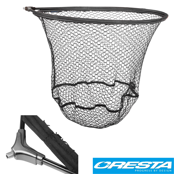 Cresta Rubbermesh Strong Carp Landing Net 60x50cm