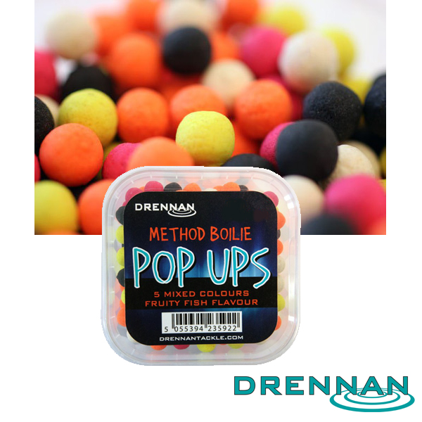 Drennan PopUp 8mm Method Boilie Mix #Fruity Fish