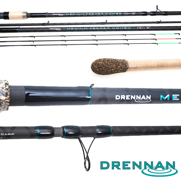Drennan Medium Feeder Combo 11'6ft/12'6ft