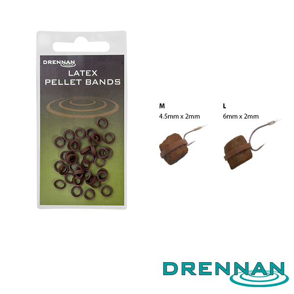 Drennan Latex Pellet Bands 4,5mm M