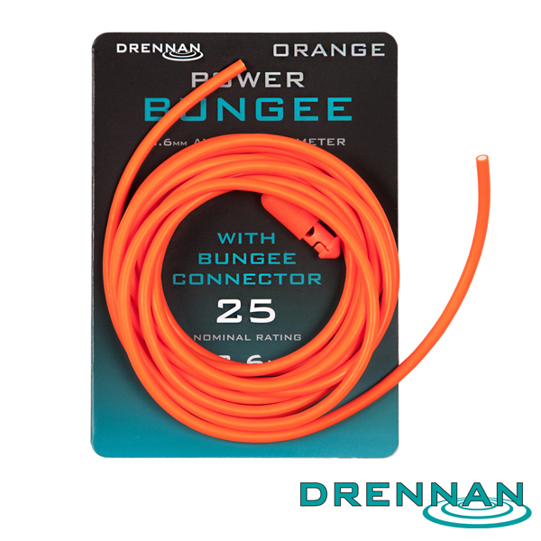 Drennan Power Bungee #Orange 3,6mm 2,6m