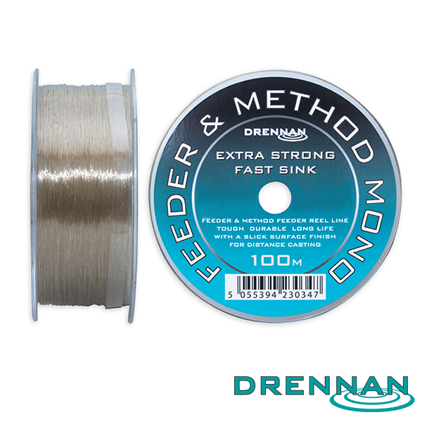Drennan Feeder&Method Mono 0,18mm 250m 4lb 1,81kg