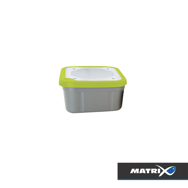 Matrix Grey/Lime Bait Box Perforated Top 3,3pt