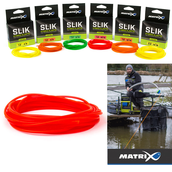 Matrix Slik Hybrid Elastic Red 1,6mm #10-12