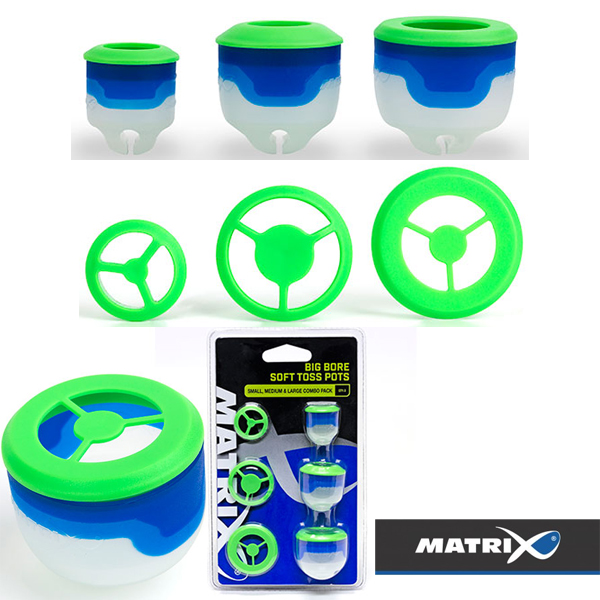 Matrix Big Bore Flexi Toss Pots L