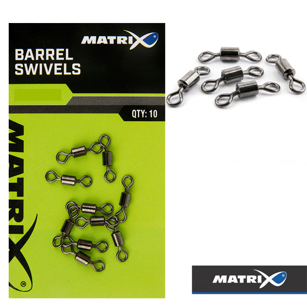Matrix Barrel Swivels #18