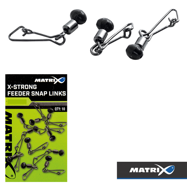 Matrix X-Strong Feeder Snap Links #10