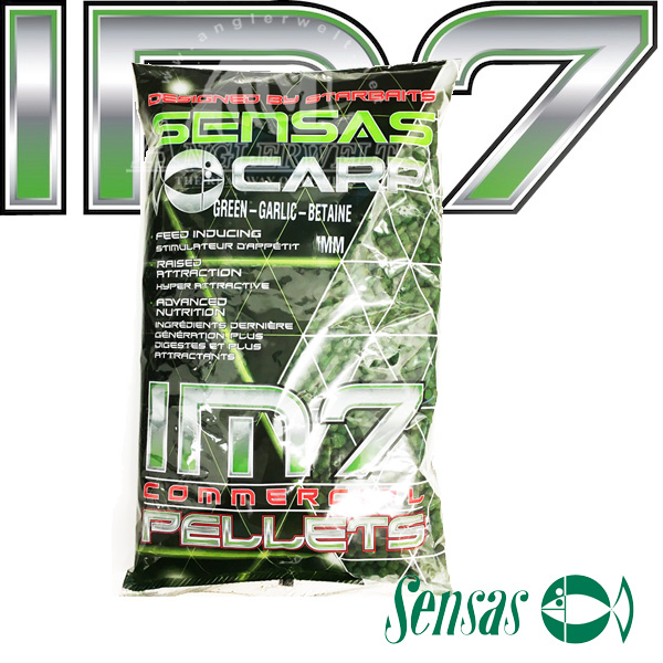 Sensas IM7 Extruded Pellets Green Garlic Betaine 6mm