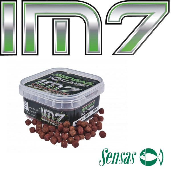 Sensas IM7 Soft Pellets Amino Red 4mm