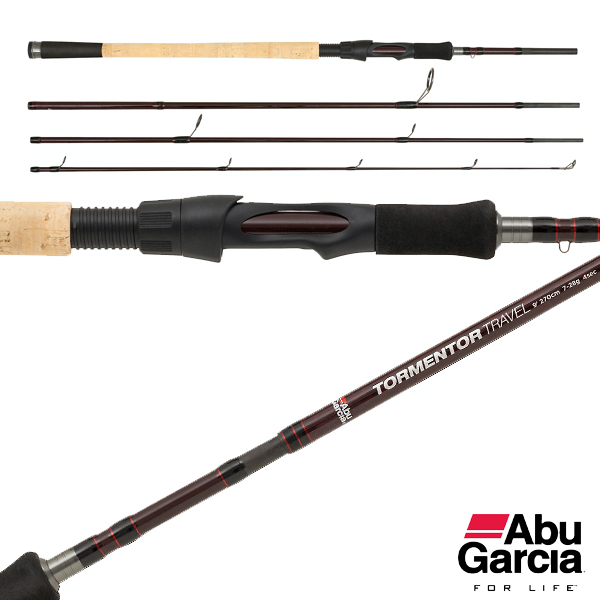Abu Garcia Tormentor Travel Spin 20-60g 240cm 4pc