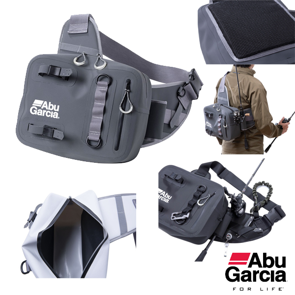Abu Garcia One Shoulder Bag #Black