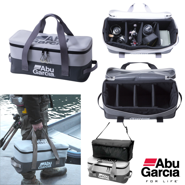 Abu Garcia 3 Way Tool Bag #Charcoal/White