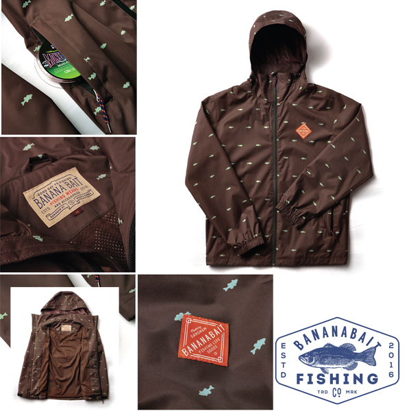 Banana Bait Wading Jacket Brown XL