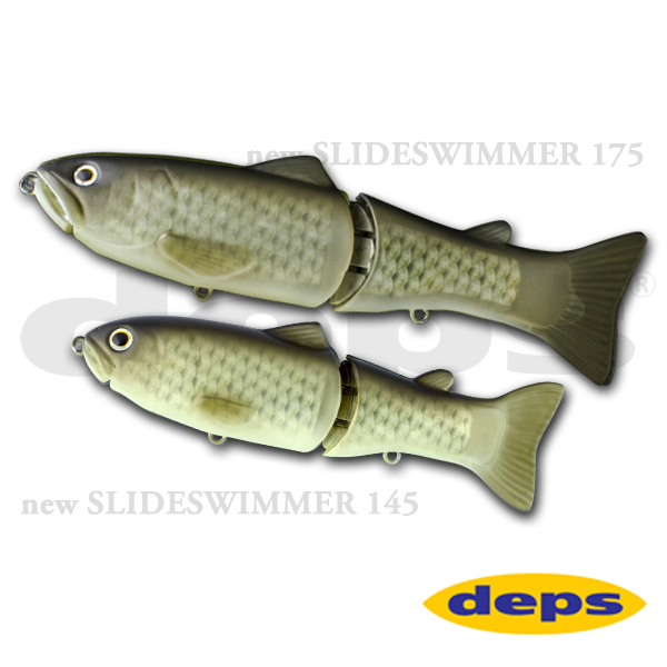 Deps New Slide Swimmer 145 #01 Flash Carp