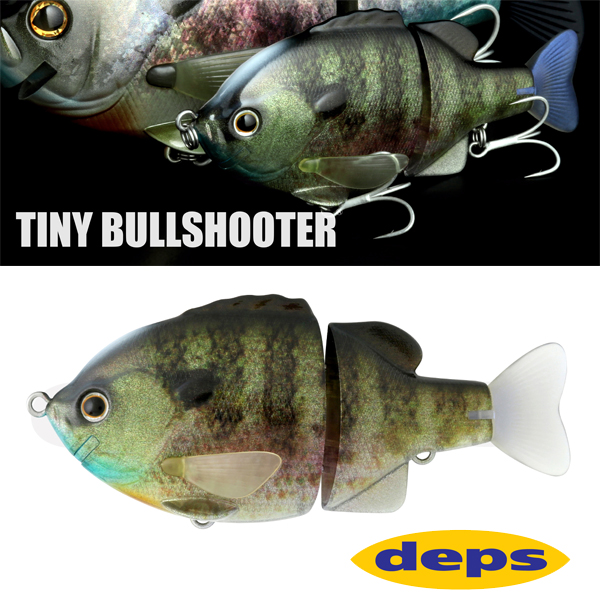 Deps Tiny Bullshooter #01 Real Blue Gill