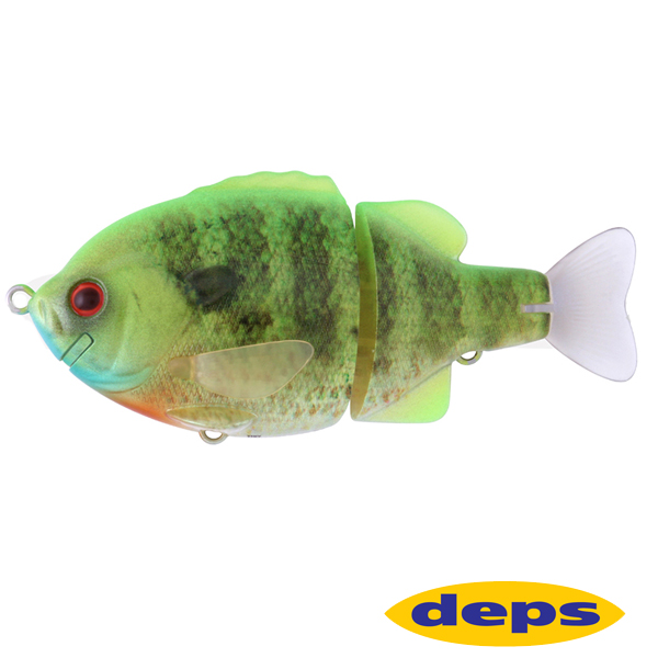 Deps Tiny Bullshooter #17 Lime Back