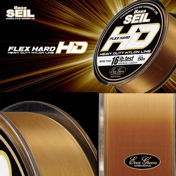Ever Green Bass Seil Flex Hard HD 12LB