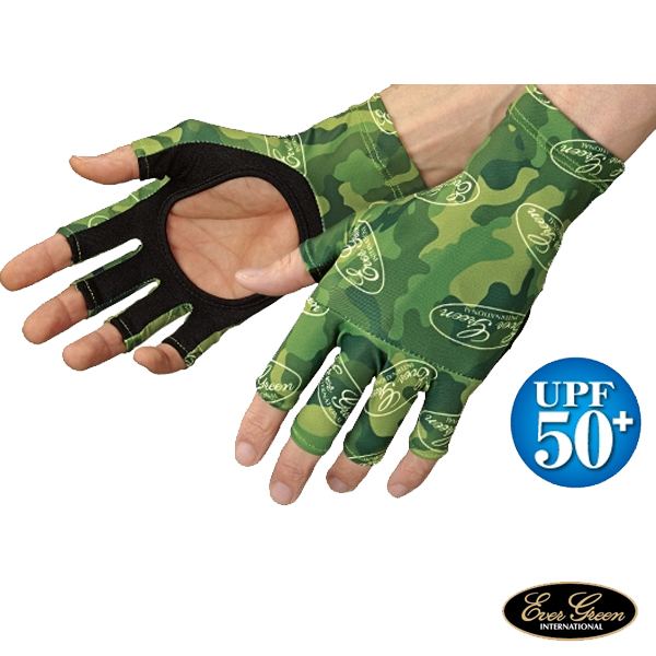 Ever Green UV Cut Glove #Green Camo