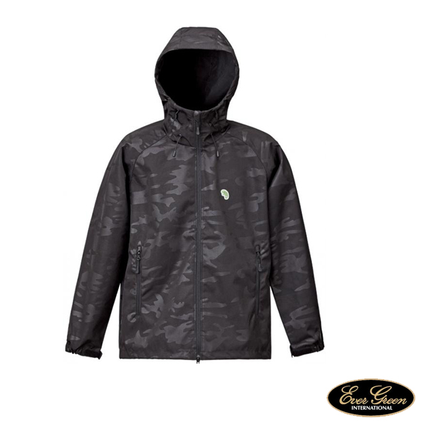 B-True Shell Parka Camo Black #XL