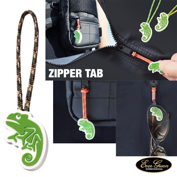 Ever Green B-True Zipper Tab #Camouflage