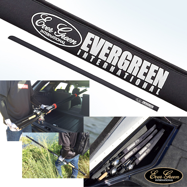Ever Green E.G. Rod Cover Black #Casting Rods