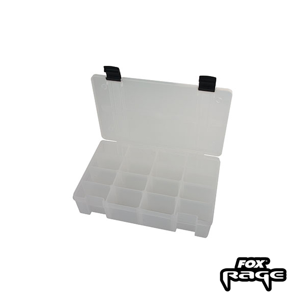 Rage Stack and Store Box 16 Comp medium deep White