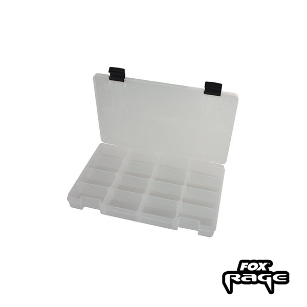 Rage Stack and Store Box 16 Compartment M White