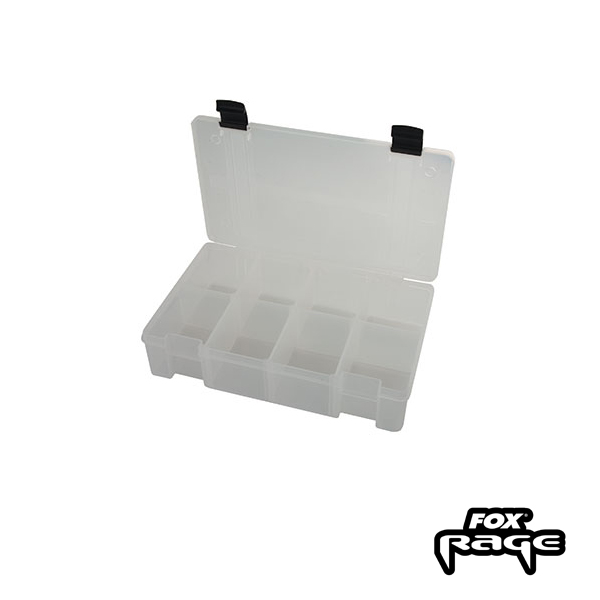 Rage Stack and Store Box 8 Comp medium deep White