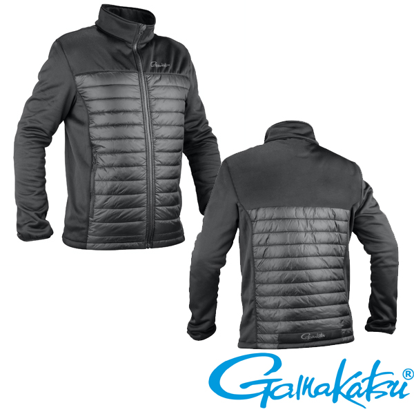 Gamakatsu Quilted Fleece Jacket M #Black