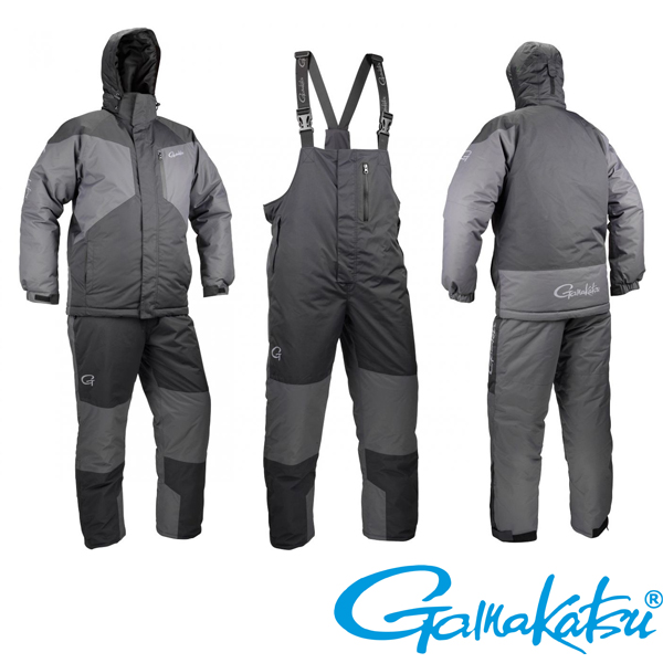 Gamakatsu Thermal Suit XXL #Black/Grey