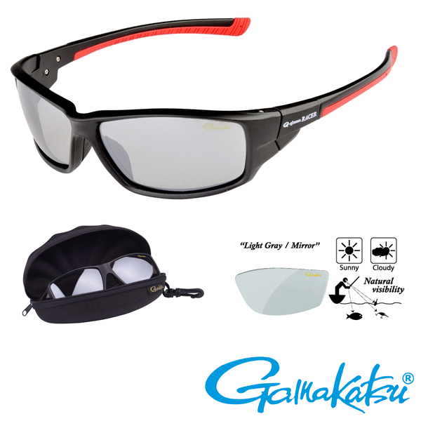 Gamakatsu G-Glasses Racer #Light Grey/Mirror