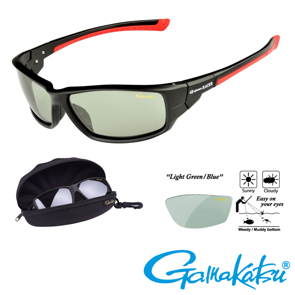 Gamakatsu G-Glasses Racer #Light Green/Blue
