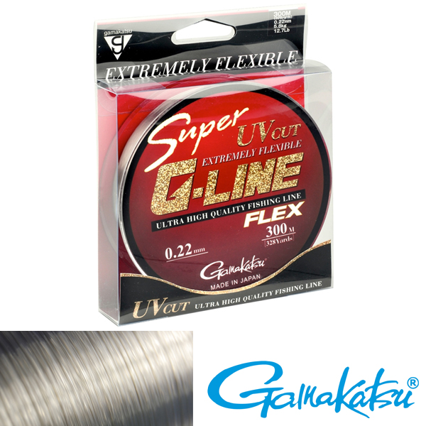 Gamakatsu Super G-Line Flex 0,18mm 300m