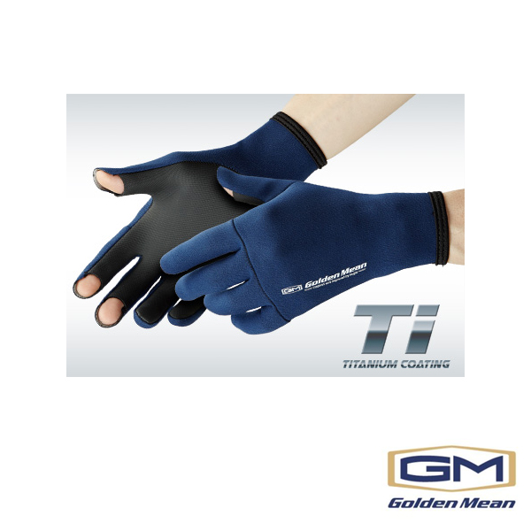 Golden Mean Glove Ti #Navy #LL