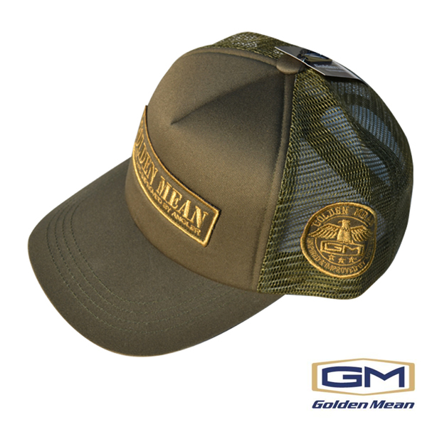 Golden Mean  Mesh Cap #Khaki