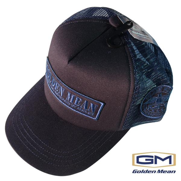 Golden Mean  Mesh Cap #Navy