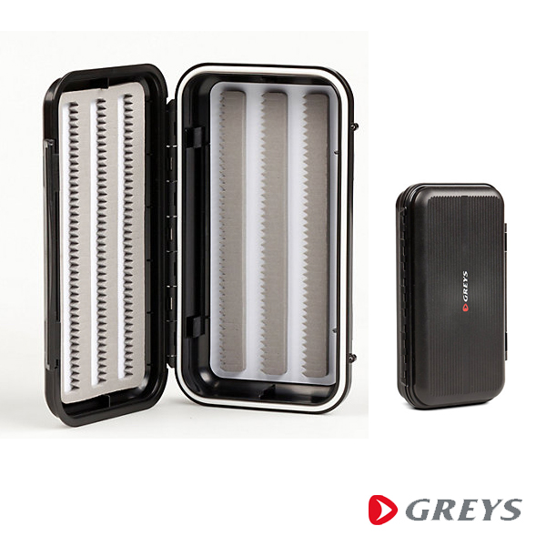 Greys GS Waterproof Fly Box Black