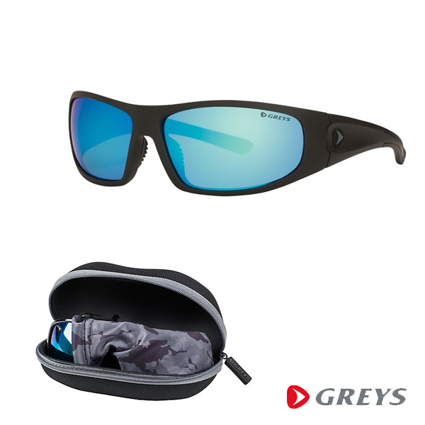 Greys G2 Sunglasses - Gloss Black/Blue Mirror