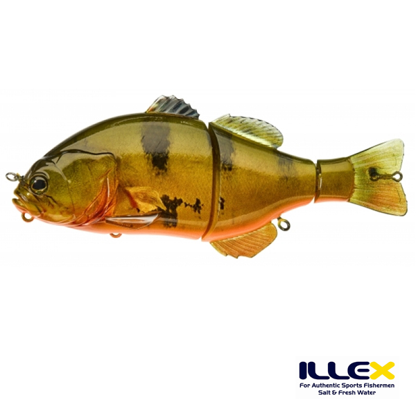Illex Gantarel jr. #RT Peacock Bass