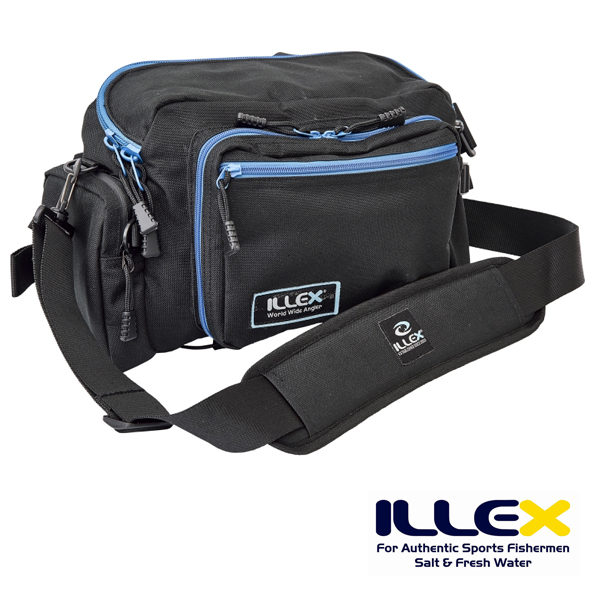 4bbb4f7406b0c Illex Fat Hip Bag  Blue Black