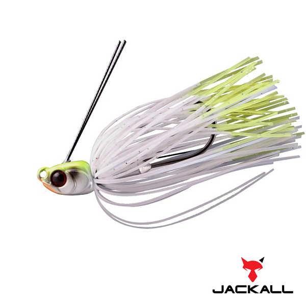 Jackall  B-Crawl Swimmer 1/4oz #Chart Back Pearl