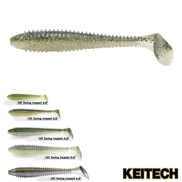 Keitech Swing Impact Fat 6,8