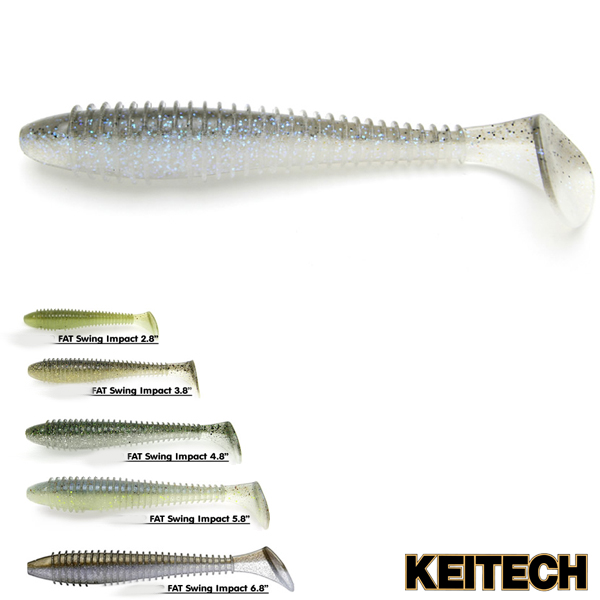 Keitech Swing Impact Fat 4,8