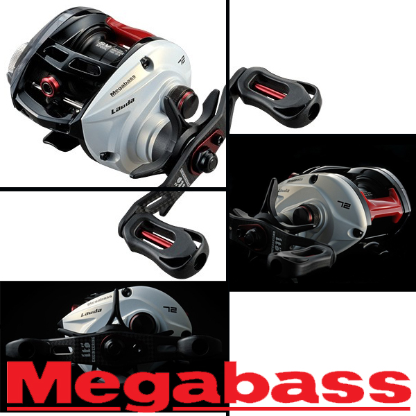 Megabass Lauda 72 Left LIMITED EDITION