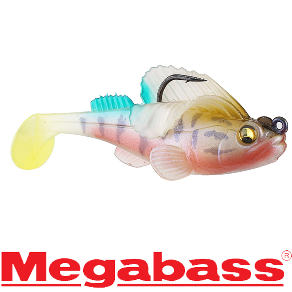 Megabass Dark Sleeper 3in 3/8oz # Biwako Yoshinobori