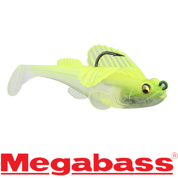 Megabass Dark Sleeper 2.4inch 1/4oz #Clear Chart
