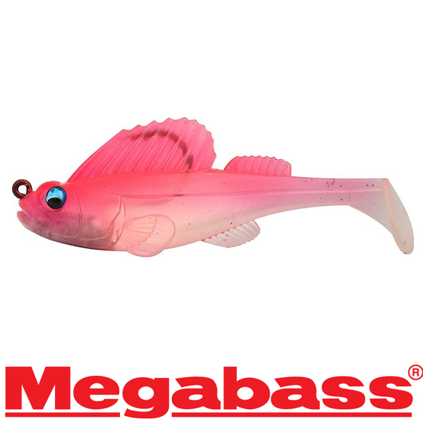 Megabass Dark Sleeper 3in 3/4oz #Clear Pink