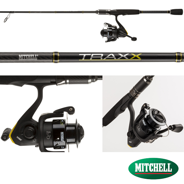 Mitchell Traxx Spinning Combo 15-40g 2,40m