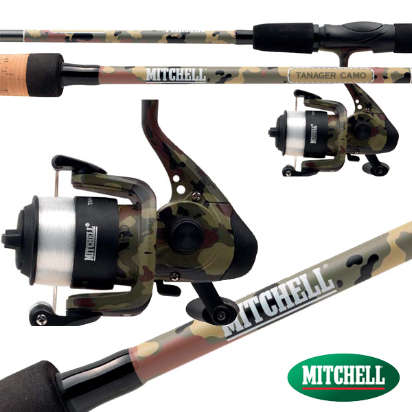Mitchell Tanager Camo Spin Combo 5-15g 1,82m